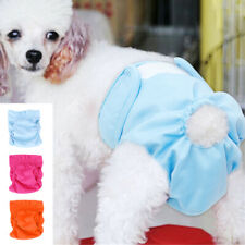 Pet Dog Sanitary Nappy Diaper Physiological Pants Puppy Underwear Clothes Yorkie