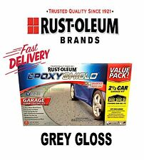 RUSTOLEUM EPOXYSHIELD GARAGE FLOOR PAINT COATING KIT GREY 2 1/2 CAR AREA COVER