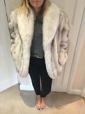 Artic Fox Fur Coat-Saga