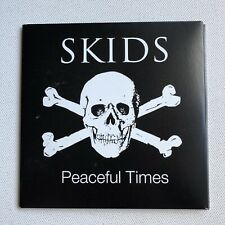 SKIDS - PEACEFUL TIMES  AUTOGRAPHED CD ALBUM - HAND SIGNED