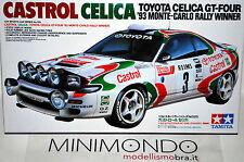 KIT CASTROL TOYOTA CELICA GT-FOUR WINNER RALLY MONTECARLO 1993 1/24 TAMIYA 24125