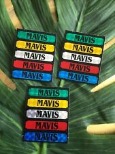 15 X MAVIS Name Stickers Ideal For Cards,crafts,gadgets,phones Etc