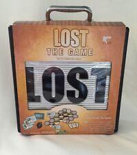 TV Series Lost The Game In Silver & Black Case 2006 NIB Board Game-HTF
