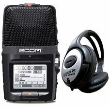 Zoom H2n Handy Recorder + keepdrum Kopfhörer
