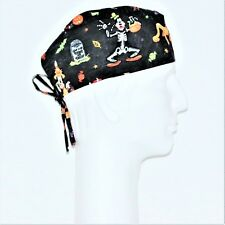 Disney Characters Donald Duck Goofy Theme Scrub Hat