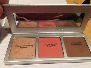 iT Cosmetics CC + Radiance Palette  Brightening Powder Matte Blush & BronzerNIB