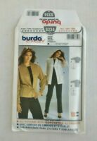 Burda Easy 8334 Jacket Sewing Pattern Size 10-24 OOP UNCUT Loose fitting
