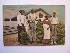 CPA - ( Amérique Sud ) - PANAMA - Banana Vendors at Colon  - 1919    (couleur)
