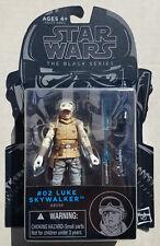 "Star Wars LUKE SKYWALKER HOTH Wampa Attack #02 Black Series 3.75"" Figure 2014"