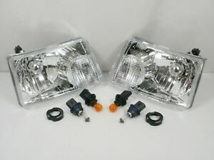 NEW For 2001-2011 Ford RANGER Headlights Headlamps PAIR Left & Right