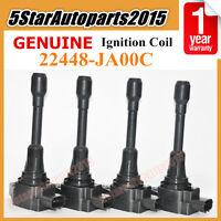 4 x OEM 22448-JA00C Ignition Coils for Nissan Altima Rogue Sentra Versa Infiniti