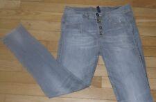 BENETTON Jeans pour Femme W 27 - L 30 Taille Fr 36  (Réf # C186)