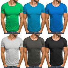 Kurzarm Herren-T-Shirts mit Rundhals-Ausschnitt