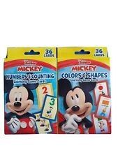 Disney Junior Mickey Mouse Clubhouse Learning Game Cards Lot of 2 New Packs!