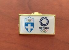 Tokyo 2020 Greece dated  NOC pin