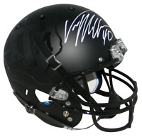 VON MILLER AUTOGRAPHED SIGNED TEXAS A&M AGGIES BLACK FULL SIZE HELMET JSA
