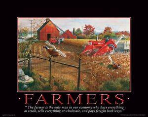 Farmall Case IH Tractor Art Print Farming Office Wall Decor Vintage Toys Freitag