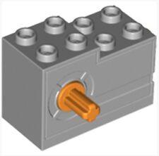 4619718_LEGO Wind Up Winch Windup Motor (95283)_Medium Stone Grey(Lot of 1)