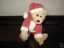 Boyds Bears Santa Teddy Bear ~ Nicholas ~ Mint MWT