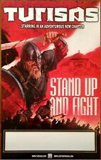 TURISAS Stand Up And Fight Ltd Ed Discontinued RARE Poster +FREE Metal Poster!