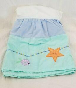 KidsLine Under the Sea Crib Bed Skirt NIP
