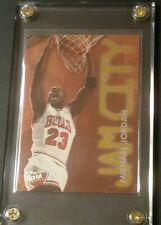 1995-96 Fleer Ultra Jam City #3 of 12 Michael Jordan Chicago Bulls RARE INSERT!
