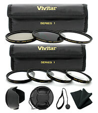 58MM Lens Filter & Close Up Macro Kit for Canon EOS Rebel T6i T5i T5 T4i T3i SL1