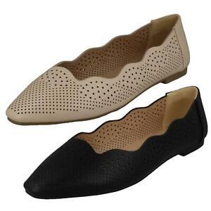 Solde Femmes Spot On Plat Chaussures à Enfiler F8R0459