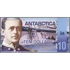 TWN - ANTARCTICA 10 Dollars 2011 UNC Polymer Comm. Prefix SPC Private issue