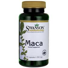 MACA SWANSON 100 CAPSULES 500mg MEN WOMEN SEXUAL HEALTH