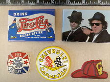 WHOLESALE LOT OF REFRIGERATOR MAGNETS,POLICE,FIRE,CORVETTE,BLUES BROTHERS, L@@K!