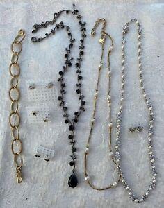 LOT Costume Jewellery 8 pieces MONET