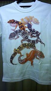 Leopard Gecko T-Shirt Mens, Ladies, Child sizes.   Reptile Lizard