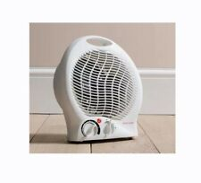 Daewoo Electrical 2-Heat Setting Portable Fan Heater 2000W White 17M Powercable