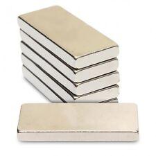 5pcs 1/16 x 3/8 x 1/8 inch  N35 Grade Strong Rare Earth Neodymium Block Magnets