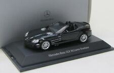 Mercedes Benz SLR McLaren Roadster ( 2004-2009 ) schwarz / Minichamps 1:43
