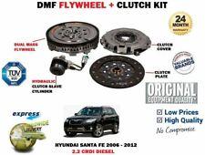 FOR HYUNDAI SANTA FE 2.2 CRDI 2006-2012 NEW DUAL MASS DMF FLYWHEEL + CLUTCH KIT