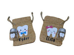 Tooth Fairy Pouch - Personalized Custom Tooth Fairy Pouch - Toothfairy
