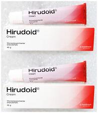 2 X 40 G. HIRUDOID CREAM FOR SCAR, BRUISES, VARICOSE VEIN ANTI INFLAMMATION BURN