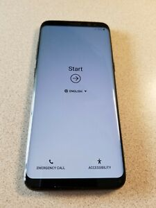 Samsung Galaxy S8 SM-G950U1 - 64GB - Black Factory Unlocked with Original Box
