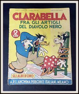 ⭐ Albi d'Oro Anteguerra Disney # 25 - CLARABELLA DIAVOLO - 1938 - DISNEYANA.IT ⭐