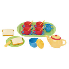 Playgo MY TEA SET 20 PIECE WITH SERVING TRAY ~NEW~