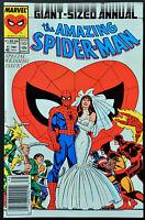 Amazing Spider-Man Annual # 21 Wedding Issue Key NM- High Grade Newstand Issue
