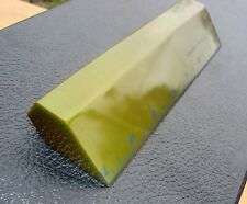 "Vintage Green Catalin Bakelite Lawson 7"" Desk Ruler Paperweight 162 grams"