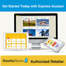 Rosetta Stone Portuguese 2 Years All Levels +Homeschool Ed. Upgrades &Dictionary