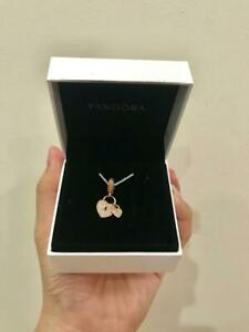 PANDORA Love Locks Dangle Charm PANDORA Rose™ & Clear CZ Cubic Zirconia 781807CZ