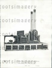 1933 GE Mercury Steam Electric Power Station Schenectady NY Press Photo