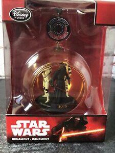 Disney Store Sketchbook Star Wars Kylo Ren 2015 Christmas Ornament Decoration