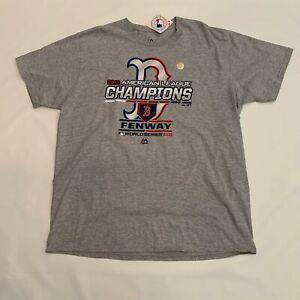 Boston Red Sox 2018 American League Champions Locker Room T-Shirt Men's Size 2XL