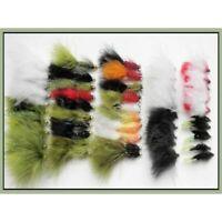 Trout Flies, Pack of 50 Mixed Lures, Gold Head & Unweighted, 10 varieties SF4N
